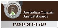 Australian Organic Annual Awards Farmer of the Year Silver