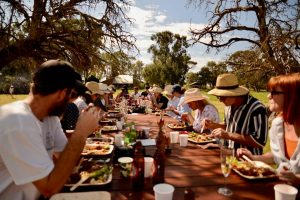 2019 Farm open day long table lunch