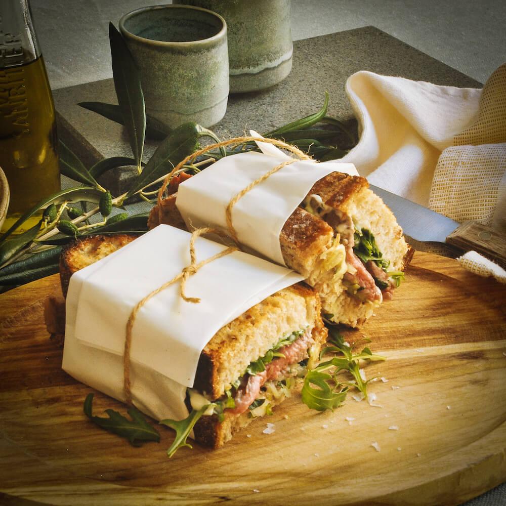 Dandaragan Organic Beef Steak Sandwich